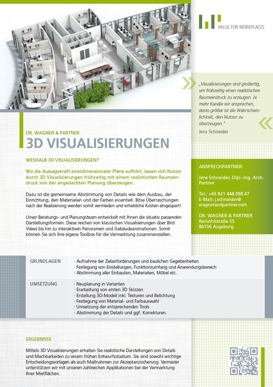 3d Visualisierung Kosten 3d visualisierung dr wagner partner
