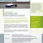 Rückbau - Dr. Wagner & Partner