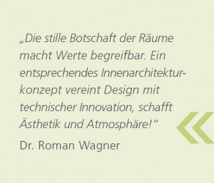 Innenarchitektur dr wagner partner for Innenarchitektur vortrag